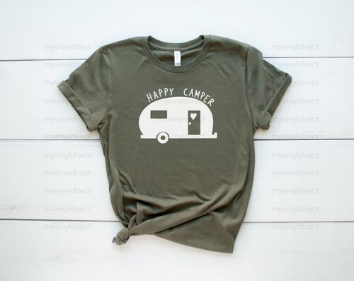 Happy Camper | Screen Print Transfer