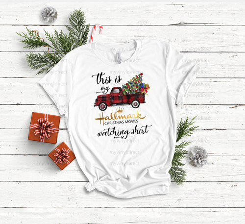 Hallmark Christmas Movies Watching Shirt