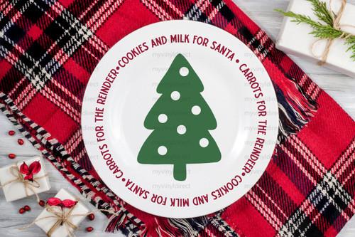 Milk & Cookies for Santa Digital Cutting File