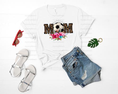 Soccer Mom Leopard & Floral | Sublimation Transfer