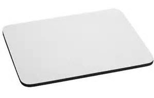 White Fabric Mouse Pads & Coasters