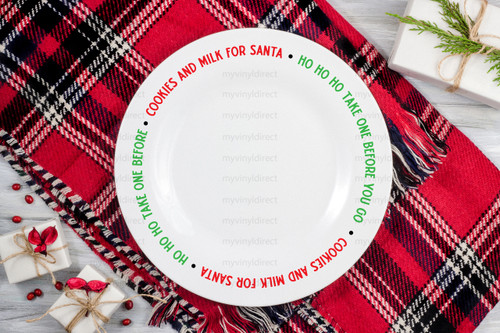 Cookies & Milk for Santa HO HO HO Digital Cutting File