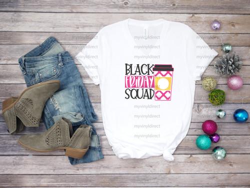 Black Friday Squad | Sublimation Transfer