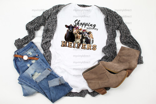 Shopping with my Heifers | Sublimation Transfer
