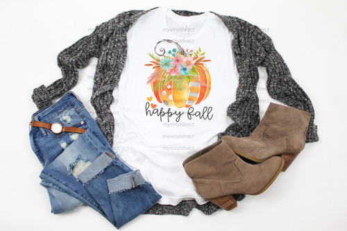 Happy Fall Pumpkin | Cotton Transfer