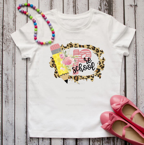 Leopard Frame Preschool | Cotton Transfer