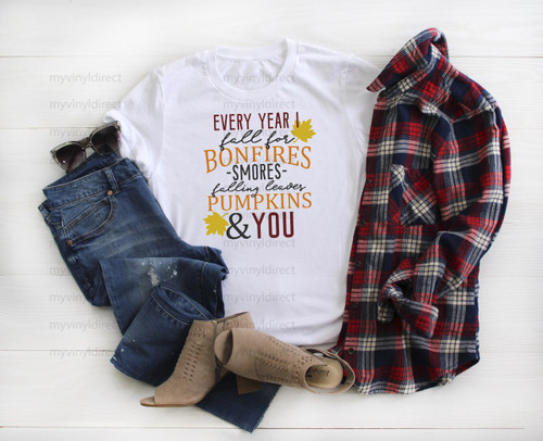Every Year I Fall For You | Cotton Transfer