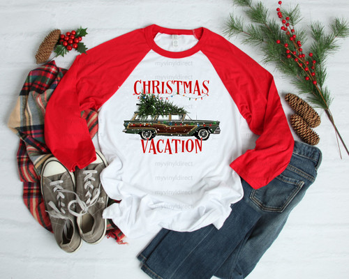 Christmas Vacation | Cotton Transfer