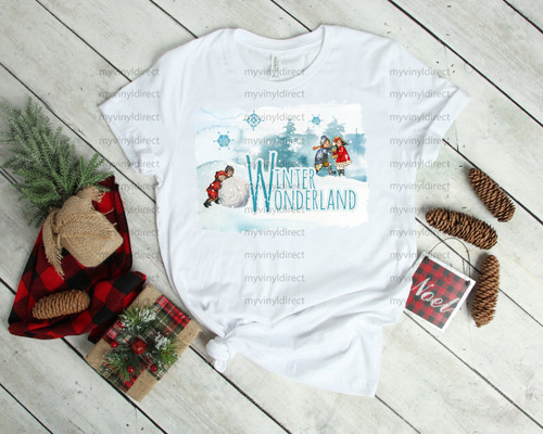 Winter Wonderland | Cotton Transfer