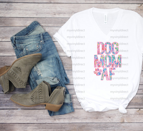 Dog Mom AF | Cotton Transfer