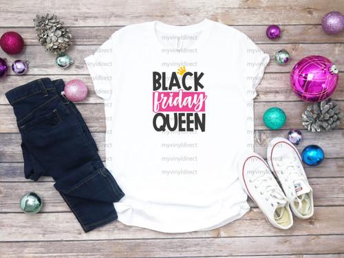 Black Friday Queen | Cotton Transfer