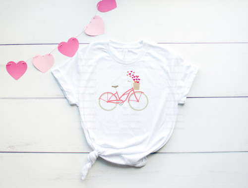 Heart Bicycle | Sublimation Transfer