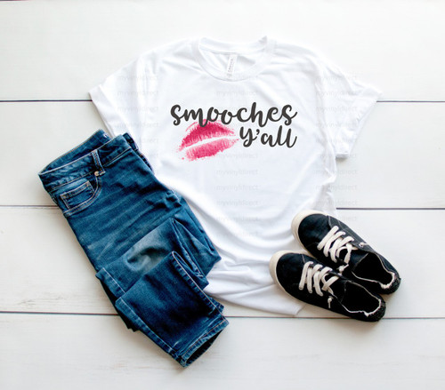 Smooches Y'all | Cotton Transfer