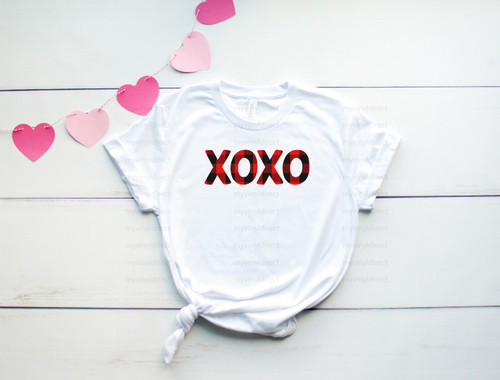 XOXO Buffalo Check | Sublimation Transfer
