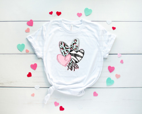 Wild Hearts | Sublimation Transfer