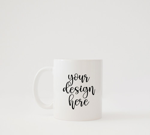 White Coffee Mug | Clean Lifestyle | Mock Up