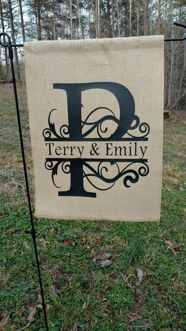 Add a name or saying in our heat transfer vinyls for a unique gift.