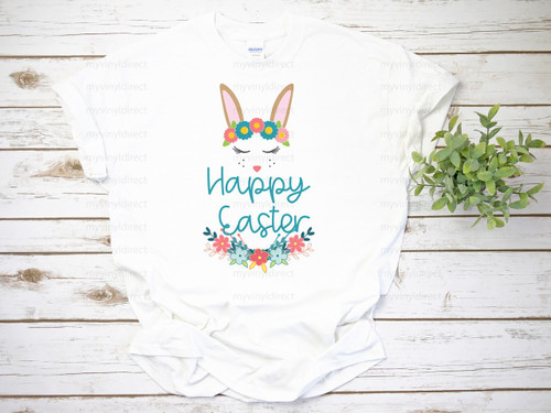 Happy Easter Bunny | Cotton Transfer