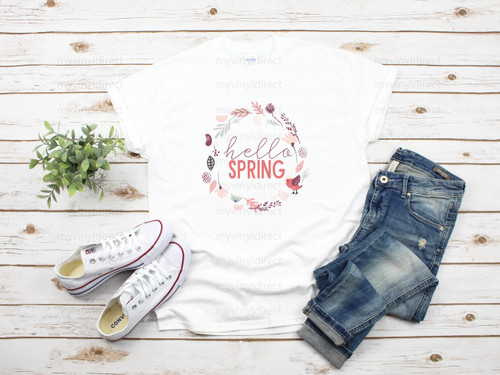 Hello Spring | Sublimation Transfer