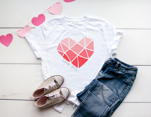 Love You Heart | Sublimation Transfer