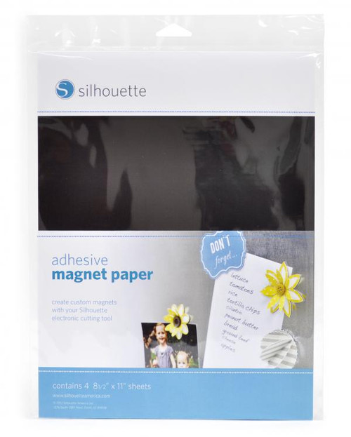**final sale** Silhouette Adhesive Magnet Paper