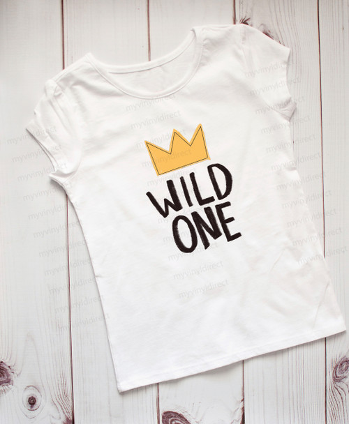 Wild One   Sublimation Transfer