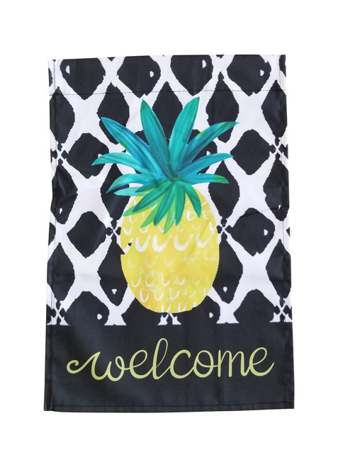 Pineapple Welcome Garden Flag
