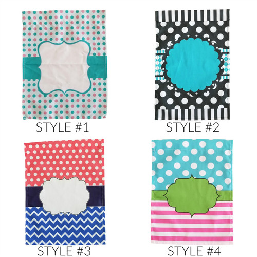 Polka Dot Garden Flag | 4 Styles Collection