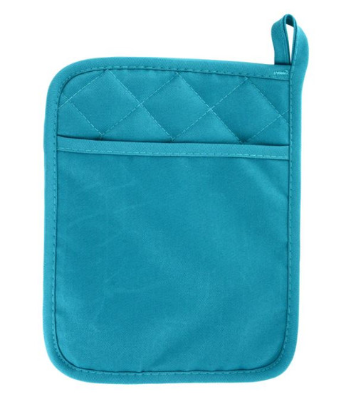 Turquoise Pot Holder