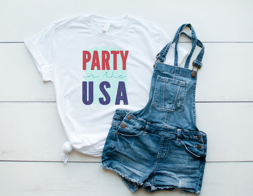 Party in the USA | Sublimation Transfer