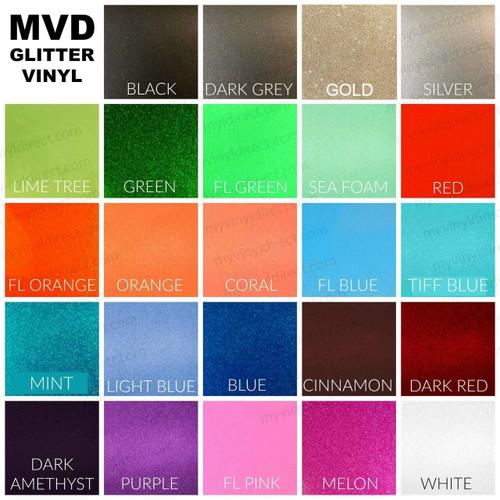 Craft Vinyls & Transfer Tapes - All Craft Vinyls - Glitter