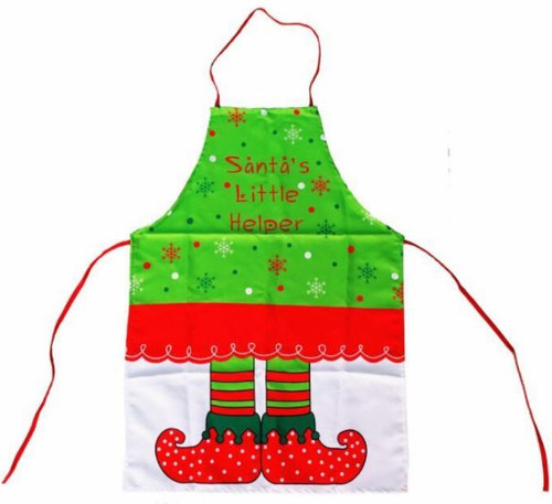 Santa's Little Helper Child Elf Apron