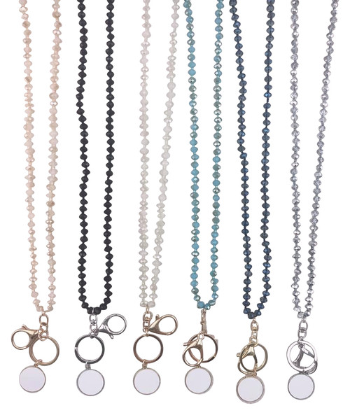 Bead Necklace Lanyards