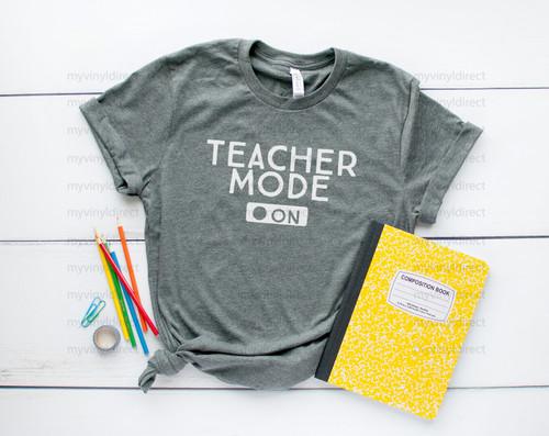Teacher Mode Digital Cutting Files
