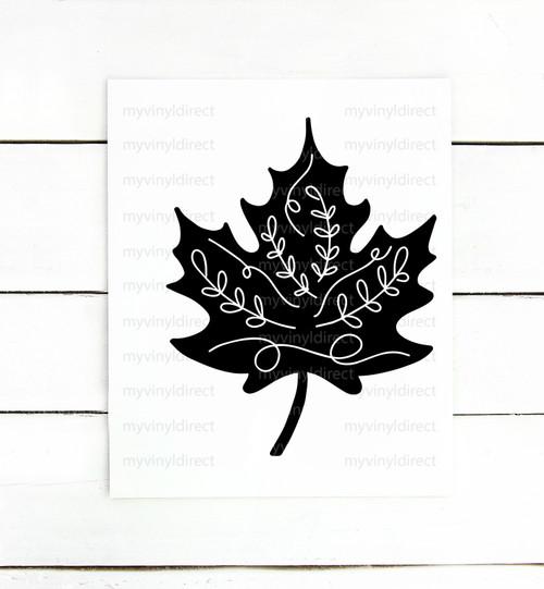 Leaf Digital Cutting File