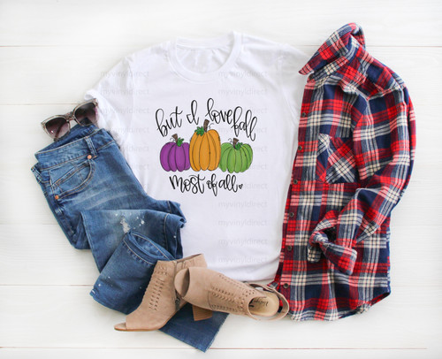 But I Love Fall Most Of All | Cotton Transfer