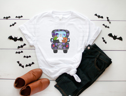 Halloween Truck | Cotton Transfer