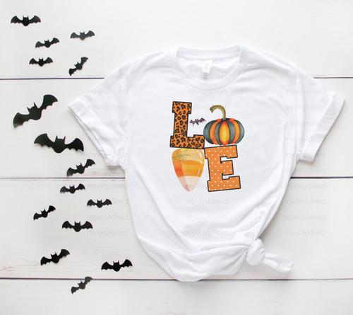 LOVE Halloween | Cotton Transfer
