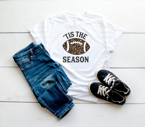 Football Tis The Season | Cotton Transfer