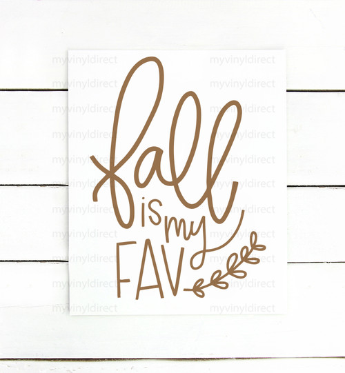 Fall Is My Fav Digital Cutting File
