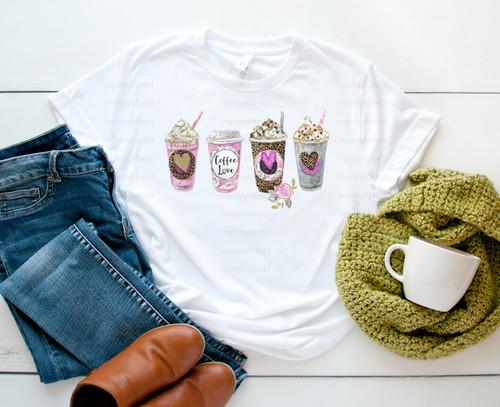 Coffee Love | Cotton Transfer