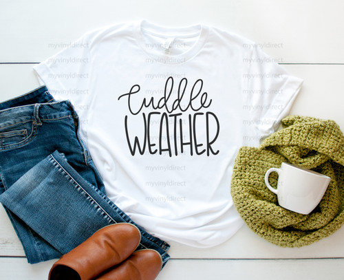 Cuddle Weather Digital Cutting File