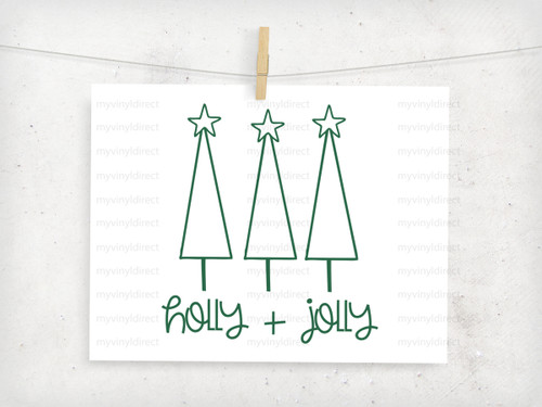 Holly & Jolly Digital Cutting File