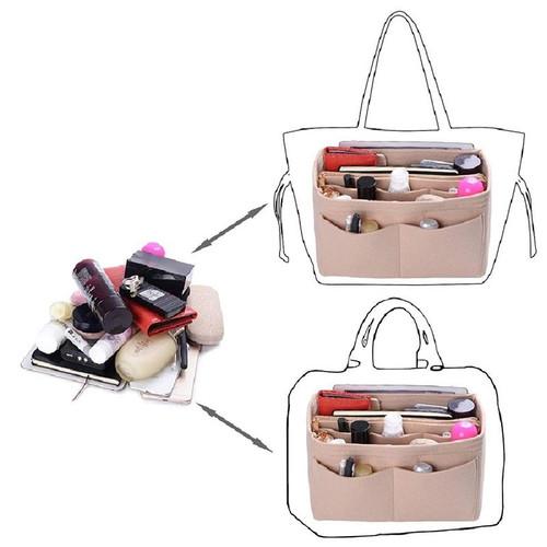 Felt Purse/Handbag Organizer with Multi-Pockets