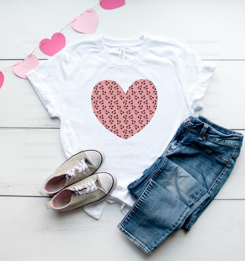 Leopard Pink Heart
