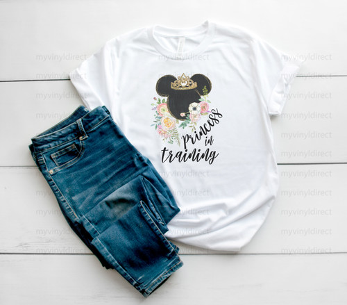 Princess in Training Magical Travels   Sublimation Transfer