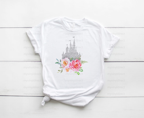 Floral Castle Magical Travels | Sublimation Transfer