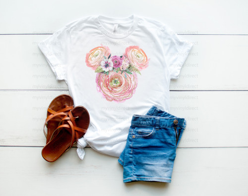 Floral Mouse Watercolor Magical Travels