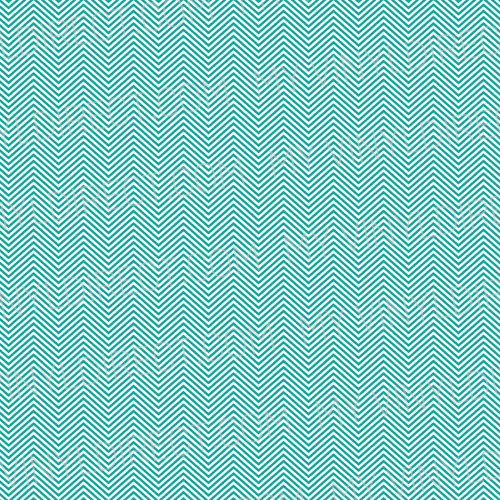 Mini Chevron Gloss 651 Vinyl Turquoise