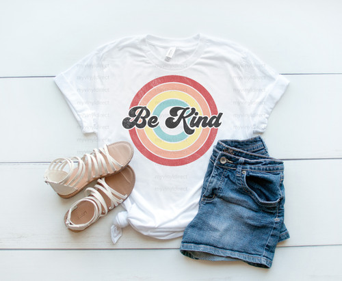 Be Kind Circle | Sublimation Transfer